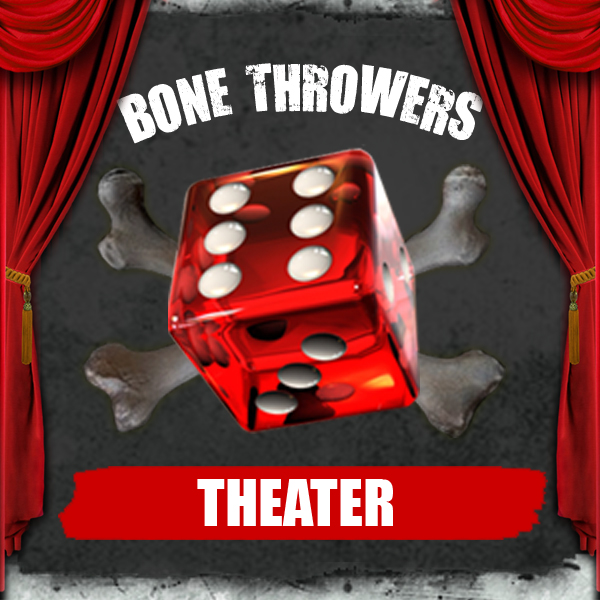 Podcast – Bone Throwers Theater logo